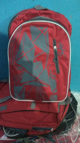 Polyester Printed Boys School Bag, for Casual Backpack