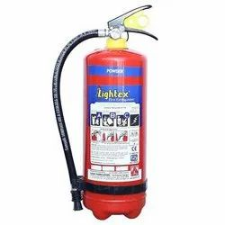 Mild Steel Dry Powder Fire Extinguisher, Capacity: 6-9 Kg, for Commercial