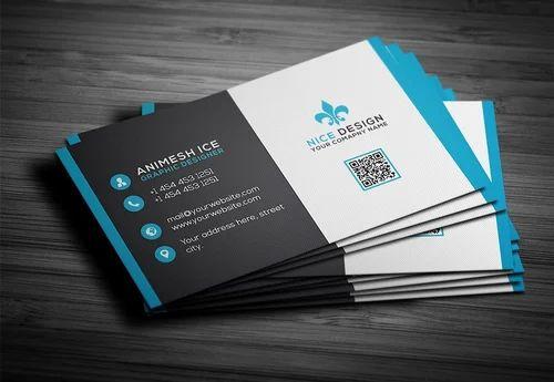 Paper And Pvc Business Card Printing Balaji Enterprise Id