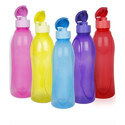 Cello Multicolor Colored Plastic Water Bottle, Capacity: 1 Liter