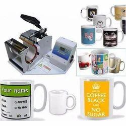 Coffee Mug Printing Press Machine