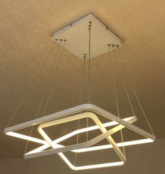 Square Hanging LED Light
