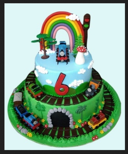 My Toy Train Cake