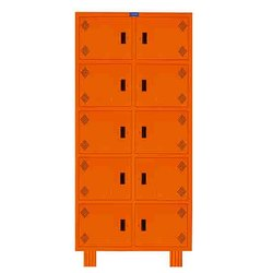 Ss Color Coated 10 Office locker