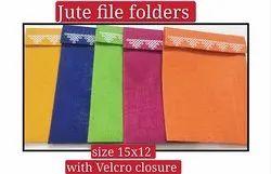 Jute file Folders