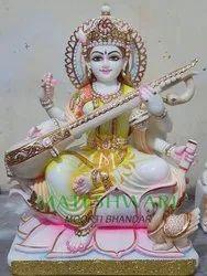 Lord Marble Saraswati Moorti