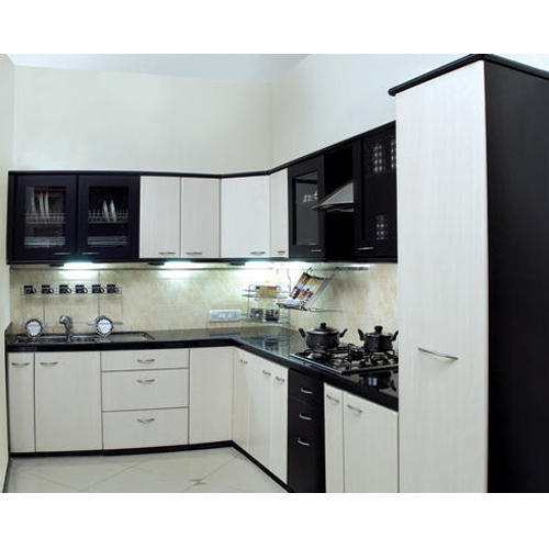 Design Modular Kitchen At Rs 200000 Set: And Standard Corian Poly Acrylic Kitchen Door, Rs 480