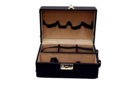Leather Wine Box With Accessories