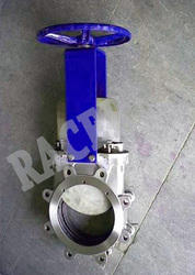 Sandwich Type Cast Steel Knife Edge Gate Valve