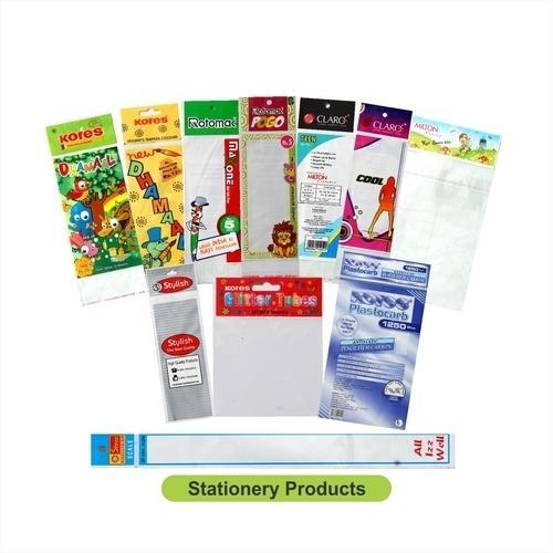 Flexographic Recyclable Stationery BOPP Bags