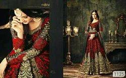 Wedding Wear Embroidered Designer Anarkali Suit for Women's