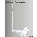 Badminton Pole Movable METCO 8127