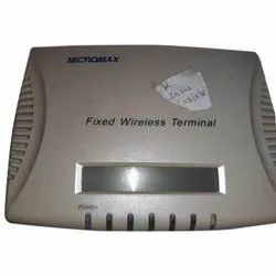 RJ-11 LCD Micromax White Fixed Wireless Terminal, Model Name/Number: MMX2010L