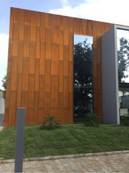 Designer Corten Steel Design Construction Rs 450 Square Feet