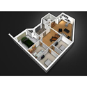 3d Floor Plan Rendering Service For Professionally Managed