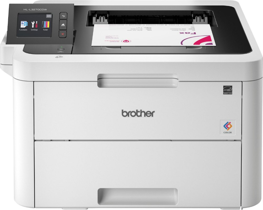 Brother HL-L3270CDW Color LED Single-Function Printer, Upto 25 ppm