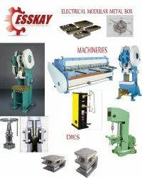 MS Electrical Metal Box Making Machine