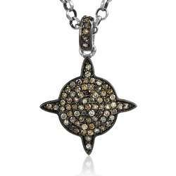 925 Sterling Silver Diamond Pendant