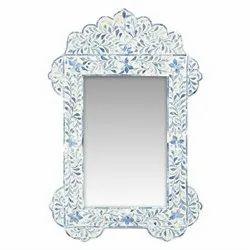 装饰骨镶嵌镜