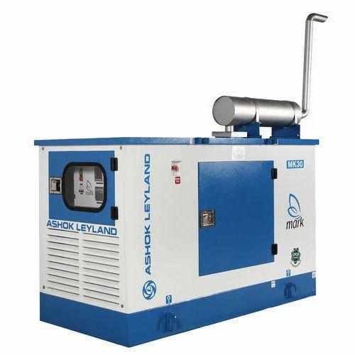 30KVA Ashok Leyland Diesel Generator - Mark Acoustic Enclosures