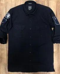 AX Patchwork Mens Shirts