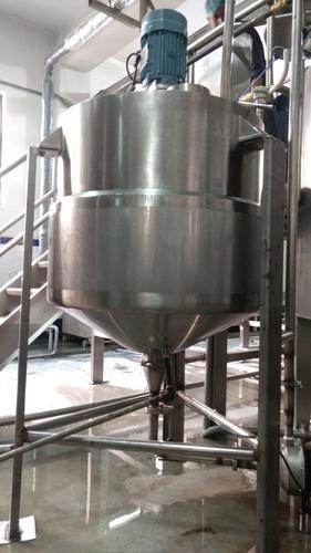 Stainless Steel Reactor Vessels, Capacity: 1000-10000L And >10000 L
