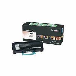 Lexmark,黑色,碳粉盒,E460X11A型