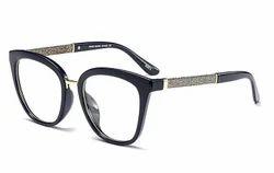Female Wayfarer Eye Wear Frame Polycarbonate And Metal High Quality