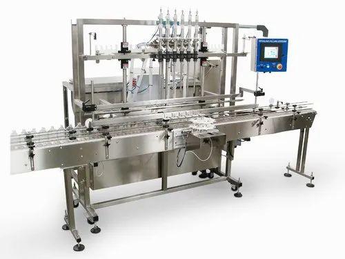 Servo Based Bottle Filling Machine