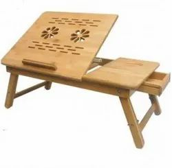 Wood Right Angled Wooden Cooling Table Stand For 14inch & 15inch Laptop, 1500