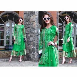 Green Long Kurti