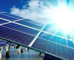 Solar Power Plant With Battery