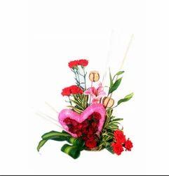 Rose Heart Shape Arrangment FLB10 Flower