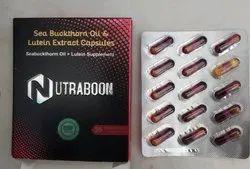Sea Buckthorn Oil- Lutein Extract Capsule (Nutraboon), Packaging Size: 2x15, Packaging Type: Capsules Strip