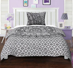 Indian Ethnic Elephant Floral Duvet Quilt Cover