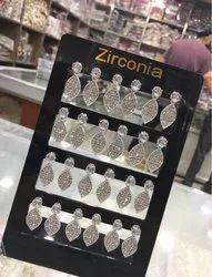 Girls Silver Earring