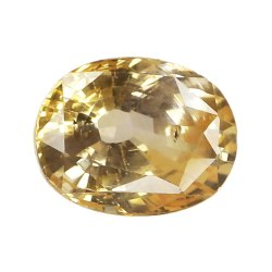 Orangiesh Yellow Natural Ceylon Yellow Sapphire