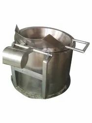 Circular Batch Fryer with Inbuilt Oil Heater For Potato Chips