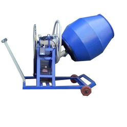 Blue Laboratory Concrete Mixer