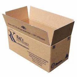 Corrugated Paper Printed Corrugated Box, Box Capacity: 11-20 Kg