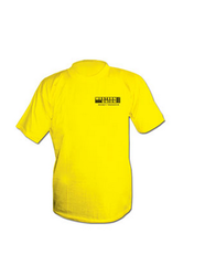 Round Yellow T Shirt