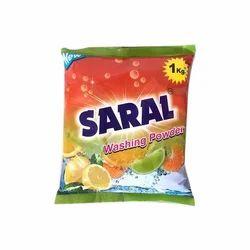 Saral Washing Powder, Packaging Type: Bag, 25 Pieces