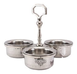 Steel Hammer Beaded Pickle Set of 3, Packaging Type: Box, Round