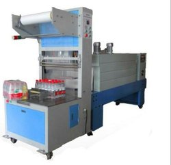 Siddhivinayak Automation Wooden Shrink Wrapping Machine, Automation Grade: Automatic, Capacity: 6-8 Pack Per Minute