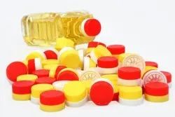 Edible Oil Two Piece Caps