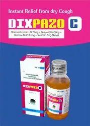 Dextromethorpan 10mg  Cetrizine 2.5mg  Guaiphensin 50mg  Menthol 1.5mg.