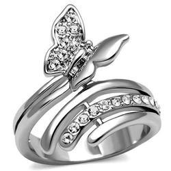 Butterfly Silver Ring