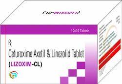 Cefuroxime  & Linezolid  Tablet