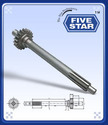 Top Gear Shaft MF240 - 18teeth