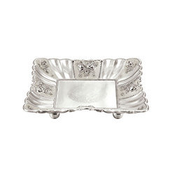 Silver Coated Imported Tray